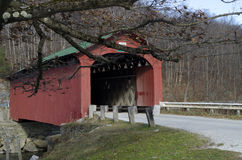 West Arlington Covered Bridge Stock Photography