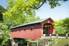 West Arlington Covered Bridge. The covered bridge in West Arlington, Vermont Royalty Free Stock Image
