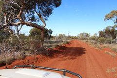 West Australian outback off road track Royalty Free Stock Photography