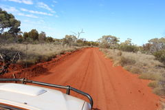 West Australian outback off road track Stock Photo