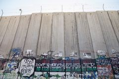 West- Banksperre des Israelis lizenzfreie stockfotografie