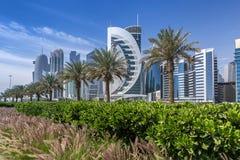 West Bay on the Corniche Stock Photo