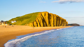 West Bay Dorset England Stock Photography
