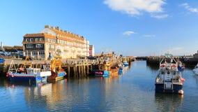 West Bay Dorset England Stock Photos