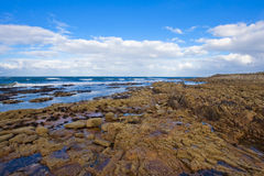 West Bay in Lossiemouth royalty free stock image