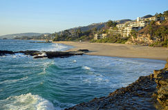 Free West Beach In South Laguna Beach,California. Stock Photo - 80809880