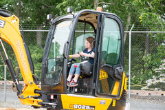 WEST BERLIN, NJ - MAY 28: Diggerland USA, construction themed adventure park Royalty Free Stock Images