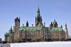 West Block of Parliament Buildings, Ottawa Stock Image
