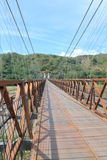 West Bridge in Olaya and Santa Fe de Antioquia, Colombia. Stock Image