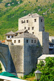 West Bridge Tower, Mostar Royalty Free Stock Image