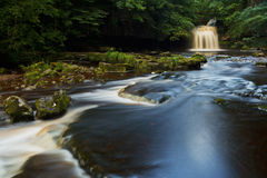 West Burton falls, Yorkshire Dales NP, UK Royalty Free Stock Photos