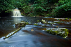 West Burton falls, Yorkshire Dales NP, UK Royalty Free Stock Photo