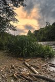 West Canada Creek. In The Town of Trenton, Upstate New York Stock Image