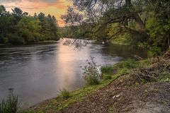 West Canada Creek. In The Town of Trenton, Upstate New York Stock Photography