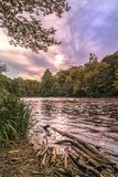 West Canada Creek. In The Town of Trenton, Upstate New York Royalty Free Stock Image