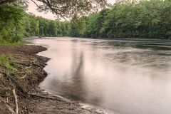West Canada Creek. In Upstate New York Royalty Free Stock Photos