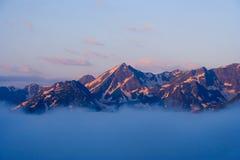 West Caucasus. View of the Western Caucasus stock photos