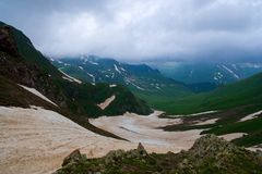 West Caucasus. View of the Western Caucasus Stock Photography