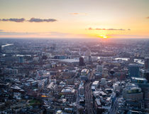 West Central London. Sunset on west central london Stock Photos