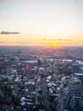 West Central London. Sunset on west central london Stock Images