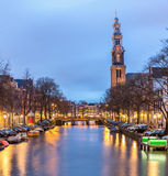 West Church cathedral in Amsterdam Stock Image