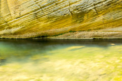 West Clear creek Arizona in spring. The amazing hidden gem of west clear creek in Arizona royalty free stock photography