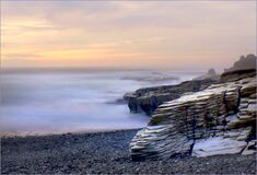 West Coast beaches of New Zealand (14) stock images