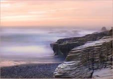 West Coast beaches of New Zealand (15) royalty free stock image