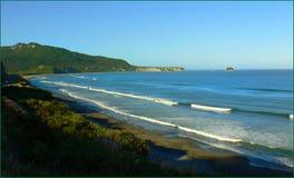 West Coast beaches of New Zealand (26) stock image