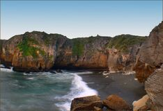 West Coast beaches of New Zealand (9) stock photo