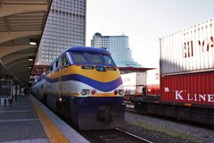 West Coast Express Stock Images