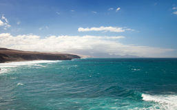 West coast of Fuerteventura Stock Photography