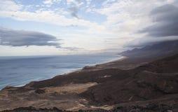 West coast of Fuerteventura. Canary Islands Royalty Free Stock Photography