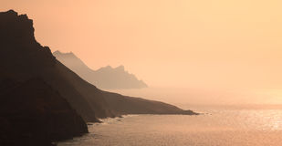 West coast of Gran Canaria. West coast of Gran Canaria, Canary Islands, Spain Stock Photography