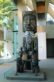 West Coast Indian Carving, Vancouver BC, Canada Royalty Free Stock Photos