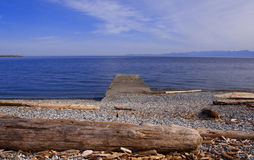 Beach - Vancouver Island - Canada Royalty Free Stock Photography