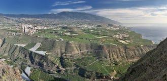 West coast of La Palma (Canary Islands) Stock Images