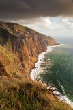 West coast of Madeira, Portugal Royalty Free Stock Image