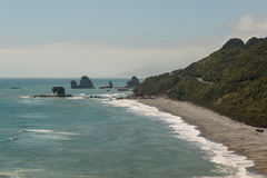 West Coast in New Zealand. View of West Coast in New Zealand Stock Photography
