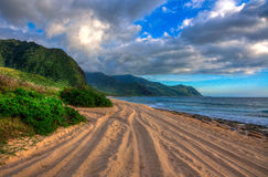 West Coast of Oahu, Hawaii Royalty Free Stock Photography