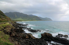 West coast of Oahu Stock Images