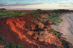 Free West Coast Of Australia. Aerial Views Of The Land Stock Photos - 158119873