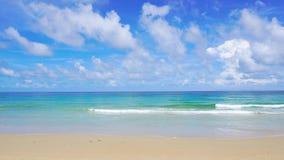 West coast Phuket Thailand Beautiful Beach Sea In Summer Sun. 4K, UHD Video clip