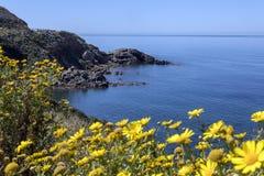 West Coast of Sardinia - Italy stock images