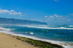 West coast shore of Oahu Stock Photo