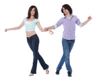 West Coast Swing Dance Stock Photography