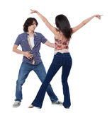 West Coast Swing Dance Stock Image