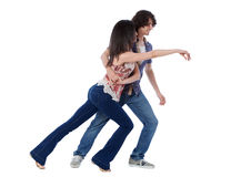 West Coast Swing Dance Stock Photos