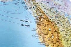 West coast of USA Stock Image