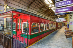 Historic train to Strahan in Tasmania Royalty Free Stock Photography